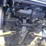 Golf GTI underneath